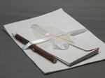 インドの手漉き紙と小枝えんぴつ