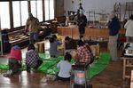丸太椅子作り ①