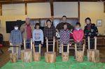 丸太椅子作り ②