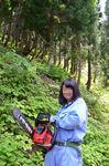 高校3年林業女子