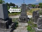 春英と妻の墓